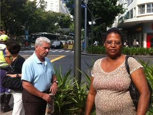 Para a moradora Maria José, as mudanças são necessárias e provocarão grandes benefícios à população em longo prazo. (Foto: Janaína Carvalho / G1)