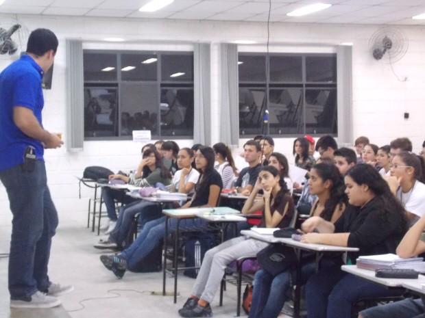 Aulas do pré-vestibular do Casd são ministradas de segunda a sábado, na zona sul de São José dos Campos. (Foto: Divulgação/Casd)