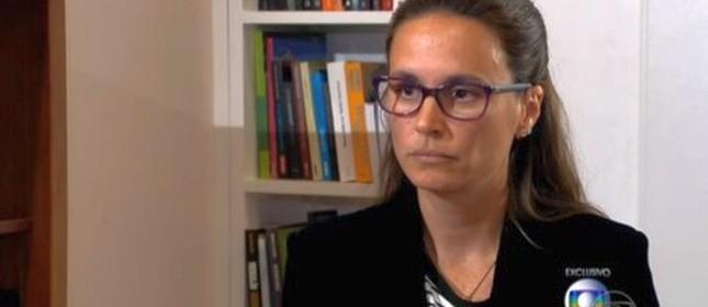 Entrevista da advogada Beatriz Catta Preta ao Jornal Nacional (Foto: Reprodução / TV Globo)