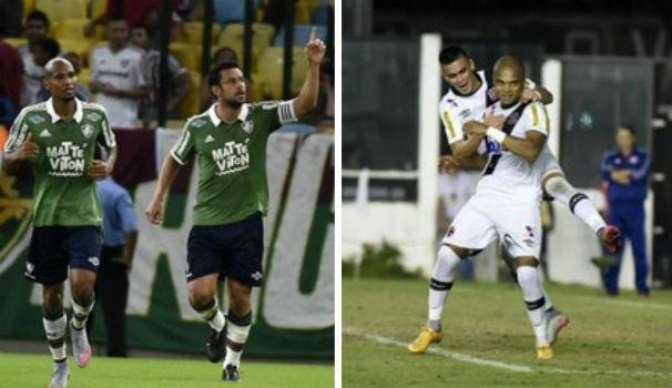 Fluminense x Vasco (Foto: Montagem/GE)