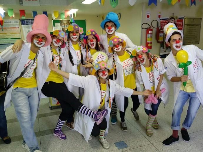 Anjos da Enfermagem participam do 'Combinado' (Foto: Fernando Petrônio)