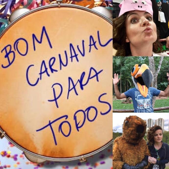 Bom Carnaval! (Foto: arquivo pessoal)