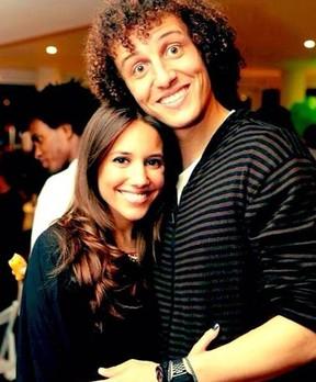 Sara Madeira e David Luiz (Foto: Reprodução / Instagram)