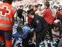 """Só tristeza: torcedores se ferem após """"avalanche"""", e Osasuna é rebaixado"""