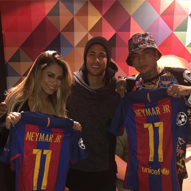 Lexa, Neymar e Guimê (Foto: Reprodução/Instagram)