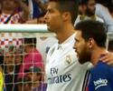 Além da atuação de gala: o abraço de CR7 em Messi e o olhar antes do gol decisivo