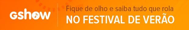Footer Festival de Verão (laranja) (Foto: BBB/TV Globo)