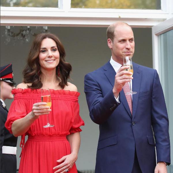 Kate Middleton e o Príncipe William (Foto: Reprodução/Instagram)