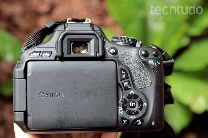 Canon T3i (Foto: Anna Kellen/TechTudo)