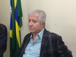 Desembargador Constatino Brahúna, corregedor do Tjap (Foto: Abinoan Santiago/G1)