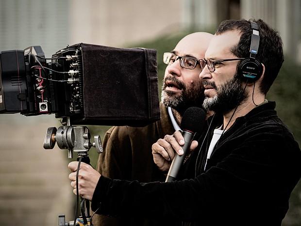 George Moura e José Villamarim já fizeram várias obras juntos (Foto: Fábio Rocha / TV Globo)