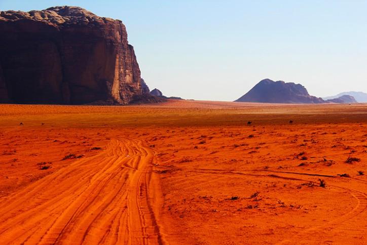 Wadi Rum, Jordnia (Foto: Divulgao)
