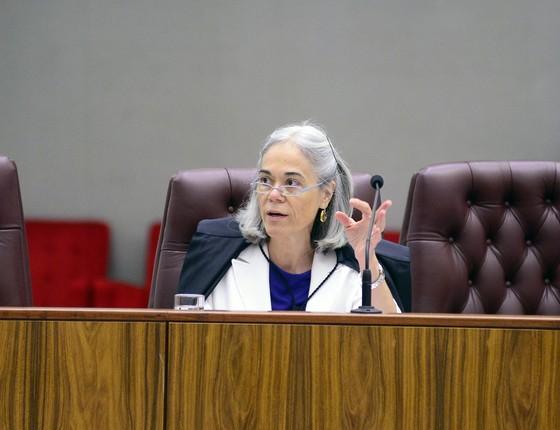 Ministra Maria Thereza Rocha Moura (Foto: ASICS/TSE)