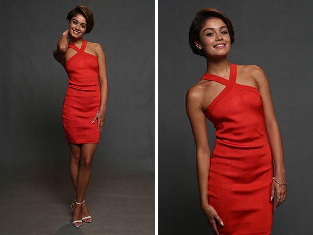 Sophie Charlotte arrasa em look vermelho sexy (Foto: Raphael Dias/Gshow)