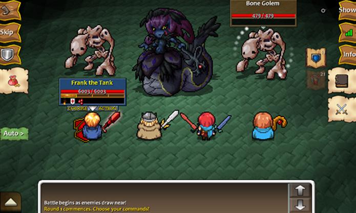 Dragons Blade II é um jogo RPG clássico com modo campanha e batalhas online (Foto: Divulgação/Windows Phone Store)