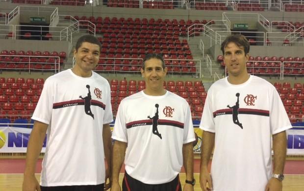 Camisa comemorativa do basquete do Flamengo (Foto: Divulgação/Flamengo)