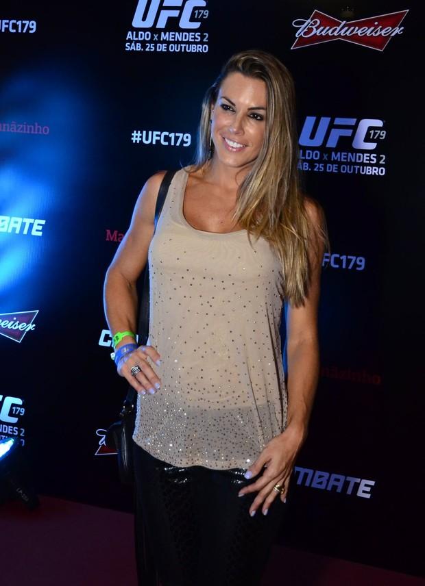 Famosos vão a UFC (Foto: Henrique Oliveira/AGNews)