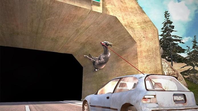 Game maluco onde você é uma cabra (Foto: Divulgação)
