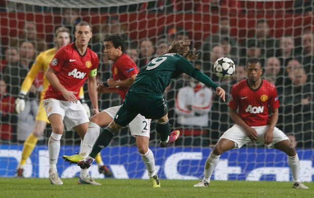 modric manchester united x real madrid (Foto: Reuters)