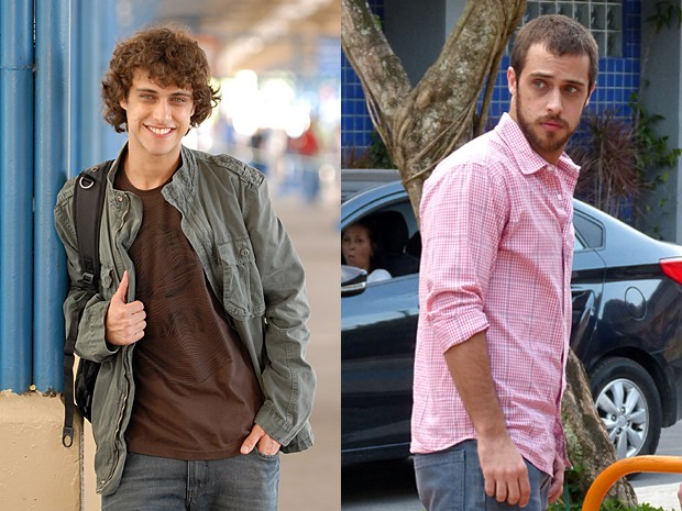Ronny Kriwat era Theo, irmão de Pedro (Bruno Gissoni), na trama (Foto: Vídeo Show / Gshow)