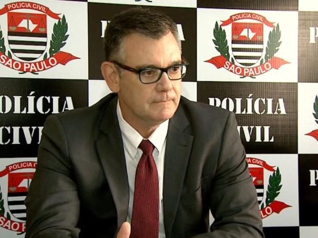 Delegado seccional Marcus Lacerda, de Ribeirão Preto (Foto: Valdinei Malaguti/EPTV)