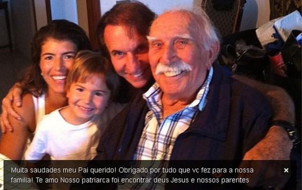 Emerson escreve mensagem em homenagem ao pai (Foto: Reprodução instagram)