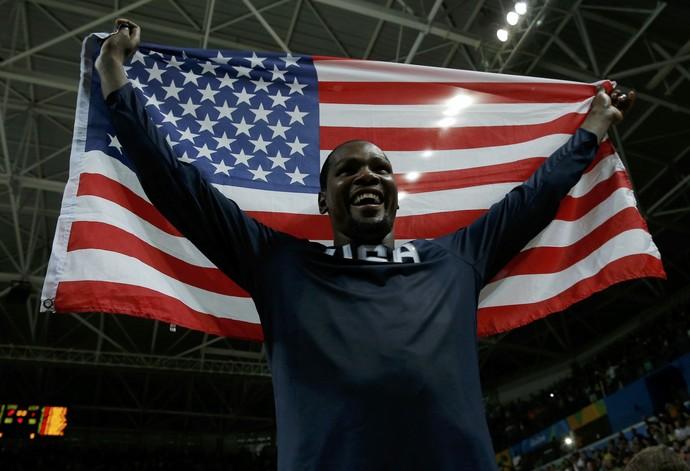 Kevin Durant basquete EUA (Foto: Reuters)