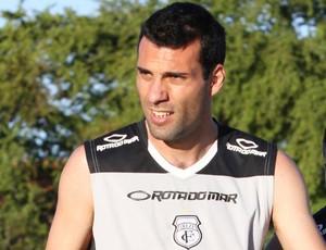 Márcio Garcia, zagueiro do Treze (Foto: Leonardo Silva / Jornal da Paraíba)