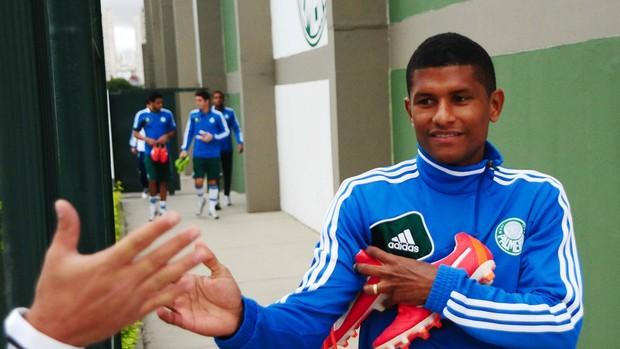 Márcio Araújo Palmeiras (Foto: Marcos Ribolli / globoesporte.com)