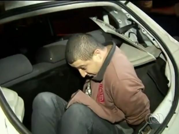 Roberto Brasil foi condenado a 17 anos de prisão pela morta da ex em Anápolis Goiás (Foto: Reprodução/TV Anhanguera)