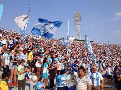 londrina x anapolina estádio do café torcida torcedores comemoração (Foto: Alberto D´Angele)