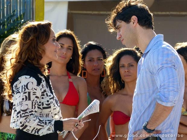 Meirelles avisa que não fará clip após escandalo envolvendo a ONG de Ester (Foto: Flor do Caribe / TV Globo)