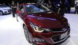 Chevrolet apresenta nova geração do Cruze hatch no Salão de SP (Alan Morici/G1)