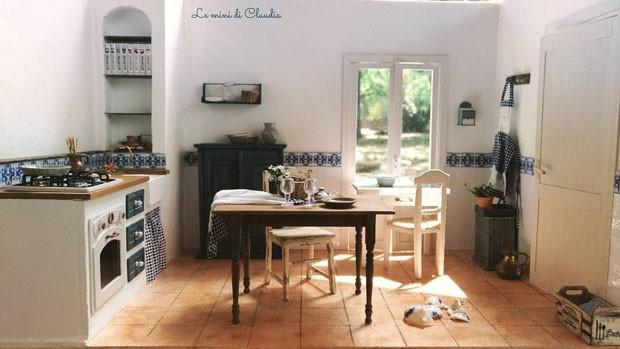 Casas em miniatura (Foto: Reprodução)