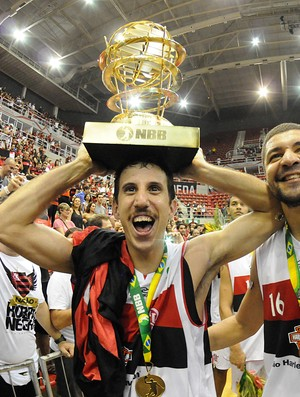Basquete nbb Flamengo e Uberlândia final DUda (Foto: Alexandre Vidal / FlaImagem)