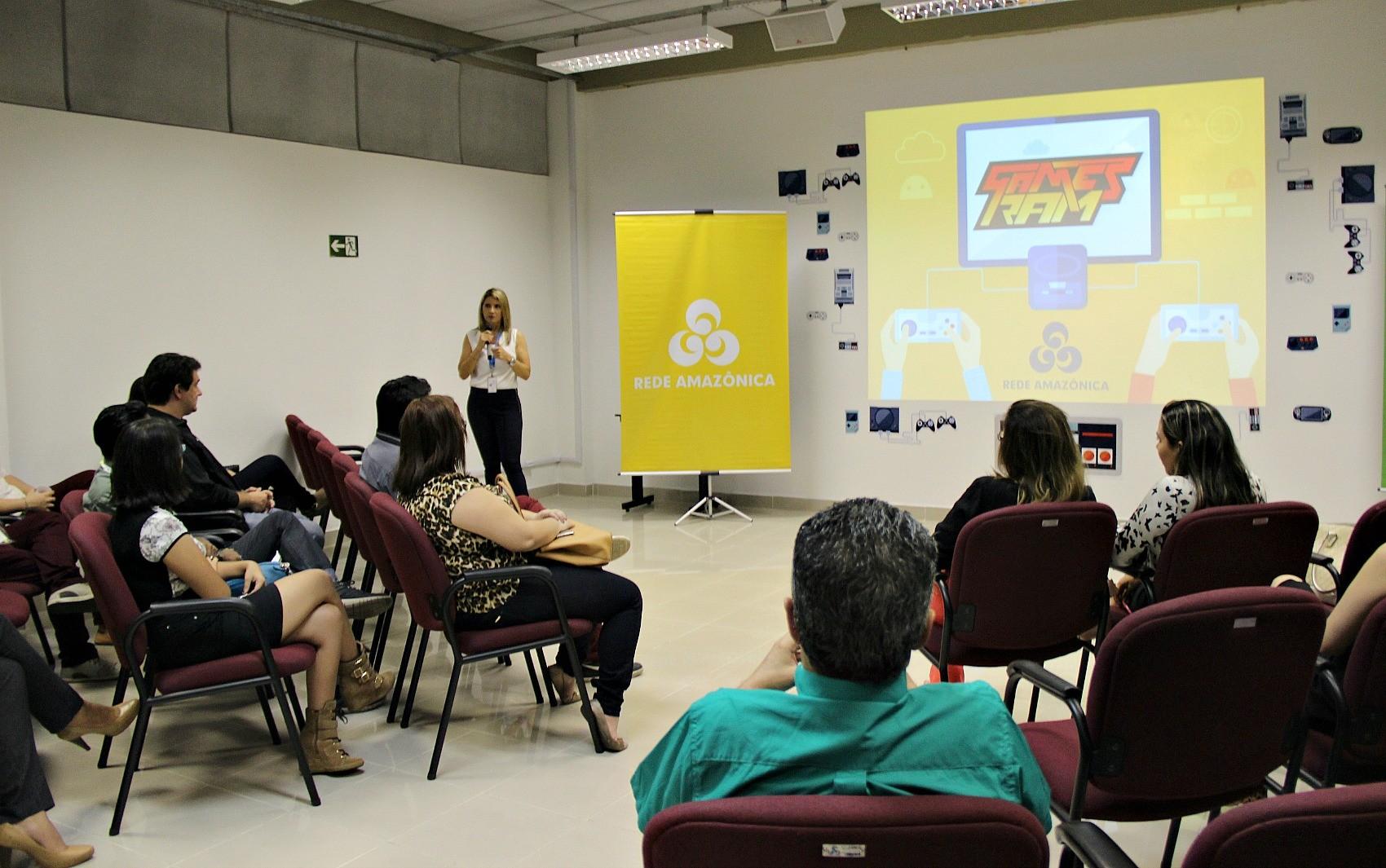"""Rede Amazônica lança o """"Games Ram"""" para o mercado de Manaus (Foto: Amazonas TV)"""