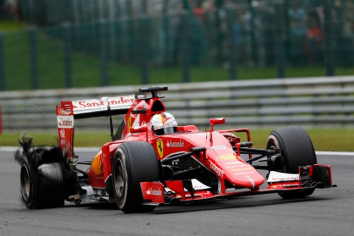 Sebastian Vettel - Spa