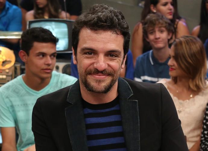 Rodrigo Lombardi participa da gravação do programa Altas Horas (Foto: Carol Caminha/Gshow)
