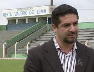Alex Sarkis, presidente do Ariquemes (Foto: Reprodução/TV Rondônia)