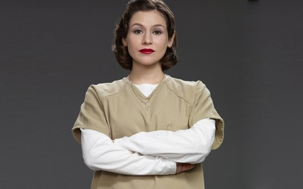 Yael Stone, a Lorna Morello de Orange Is The New Black (Foto: Divulgação)