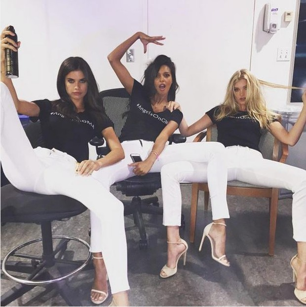Sara Sampaio, Lais Ribeiro e Elsa Hosk (Foto: Reprodução do Instagram)