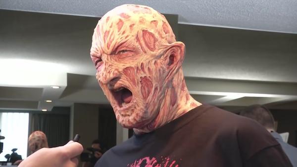 O ator Robert Englund como Freddy Krueger (Foto: Reprodução)
