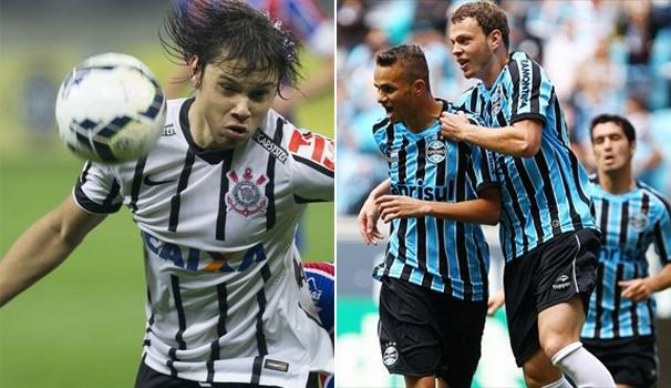 Futebol Grêmio x Corinthians (Foto: Daniel Augusto Jr/Agência Corinthians / Lucas Uebel - Site oficial do Grêmio )