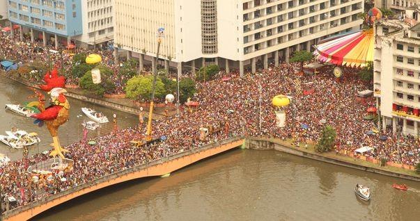Desfile do Galo da Madrugada (Foto: TV Sergipe / Divulgação)
