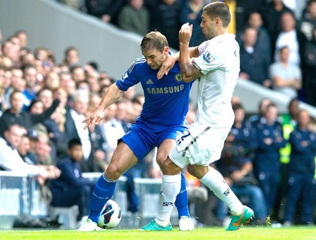 Totteham e Chelsea, AP (Foto: Agência AP)