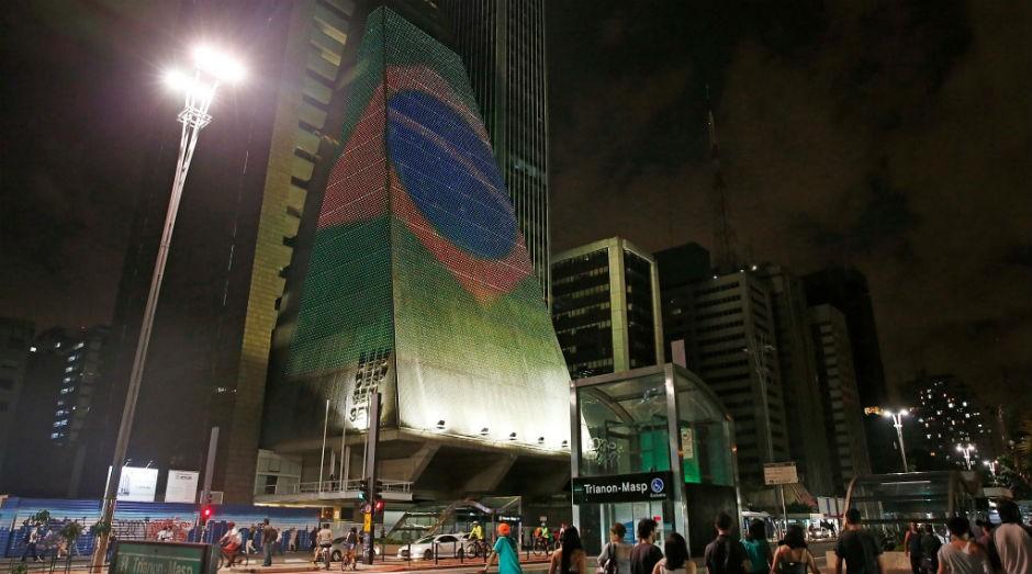 O prédio da Fiesp na Avenida Paulista, São Paulo (SP) (Foto: divulgação)