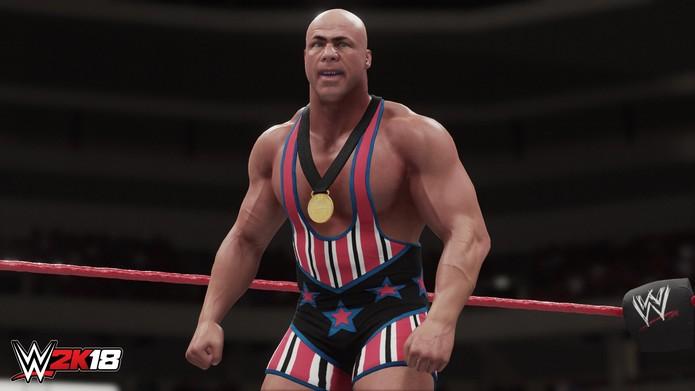 WWE 2K18 (Foto: Divulgação/2K Sports)