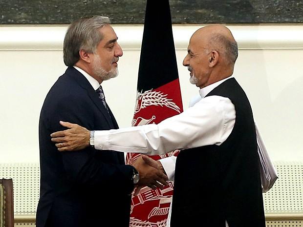 Ashraf Gani � eleito novo presidente do Afeganist�o