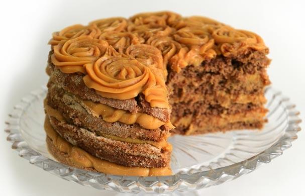 O bolo de churros da Studio Cake (Foto: Divulgação)