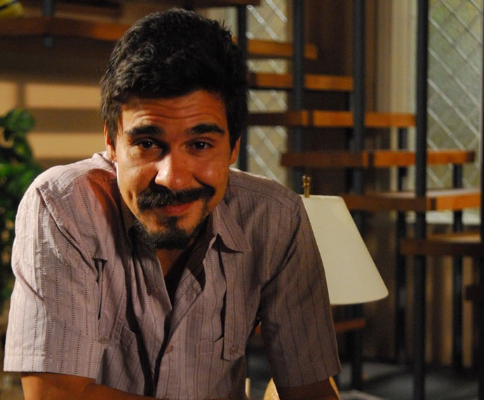 André Gonçalves em 'Escrito nas Estrelas' (Foto: TV Globo/Thiago Prado Neri )